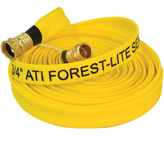 Forest Lite Mop-Up fire hose